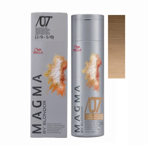/07 plus Naturale sabbia intenso Wella Magma 120gr