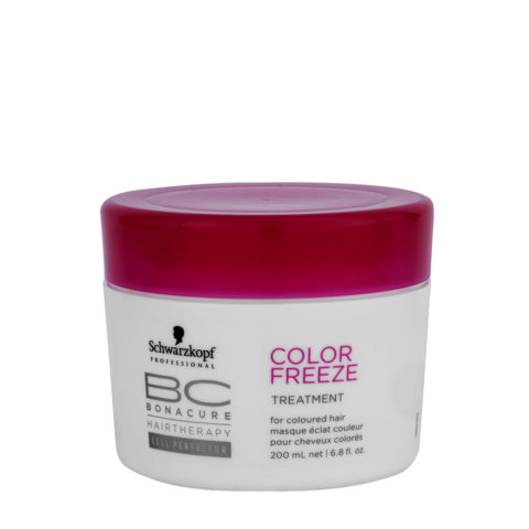 Schwarzkopf BC Bonacure Color Freeze Treatment 200ml - Trattamento rigenerante per capelli colorati