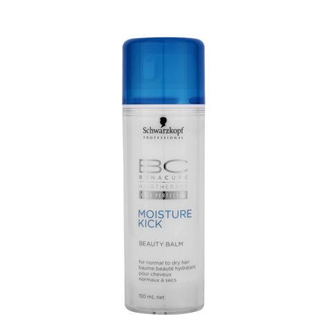 Schwarzkopf BC Bonacure Moisture Kick Beauty Balm 150ml - Balsamo idratante per la piega