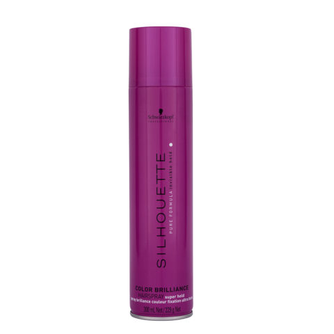 Schwarzkopf Silhouette Color Brilliance Super Hold Hairspray 300ml - lacca forte