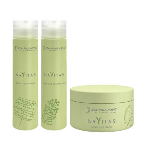 Jean Paul Mynè Navitas Kit Shampoo 250ml Conditioner 250ml Mask 200ml