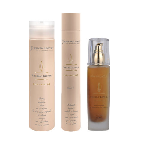 Jean Paul Mynè Thermo repair Shampoo 250ml Leave in 150ml Hair treatment 50ml