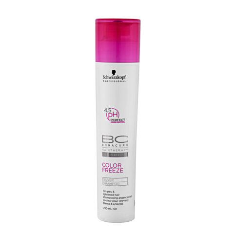 Schwarzkopf BC Bonacure Color Freeze Silver Shampoo 250ml - shampoo per tonalità fredde