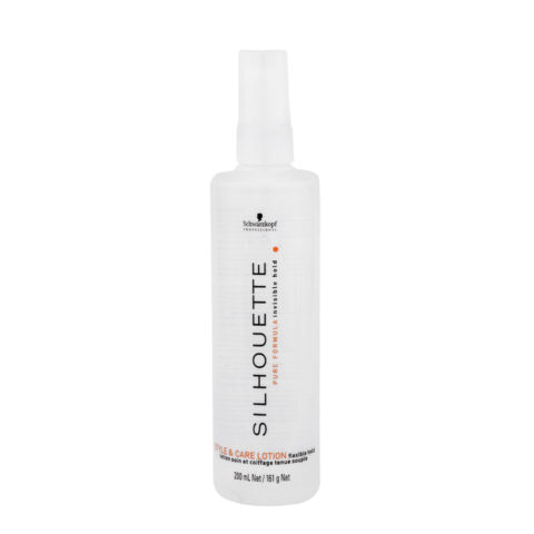 Schwarzkopf Silhouette Flexible Hold Styling & Care Lotion 200ml - lozione volumizzante