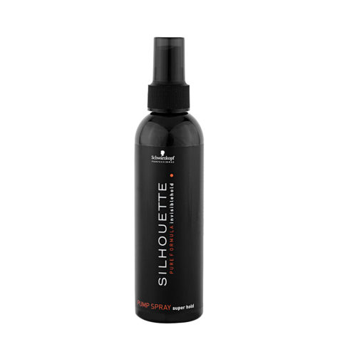 Schwarzkopf Silhouette Super Hold Pump spray 200ml - spray non aerosol tenuta forte