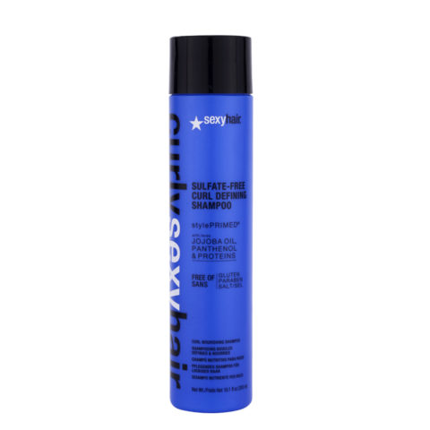 Curly Sexy Hair Sulfate-Free Curl Defining Shampoo 300ml