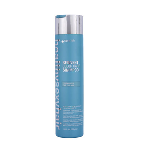 Healthy Sexy Hair Reinvent Color Care Shampoo For Damaged Fine/Thin Hair 300ml