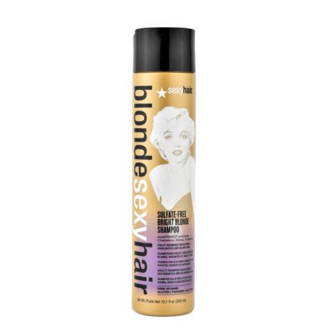 Blonde Sexy Hair Sulfate-Free Bright Blonde Shampoo 300ml