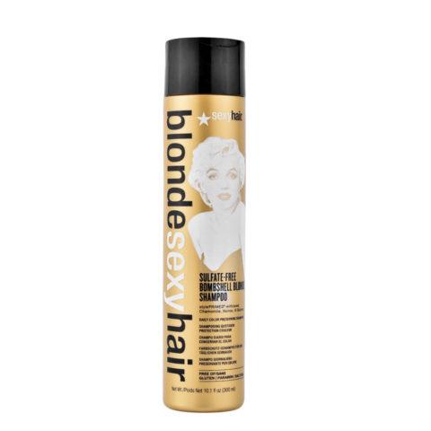 Blonde Sexy Hair Sulfate-Free Bombshell Blonde Shampoo 300ml