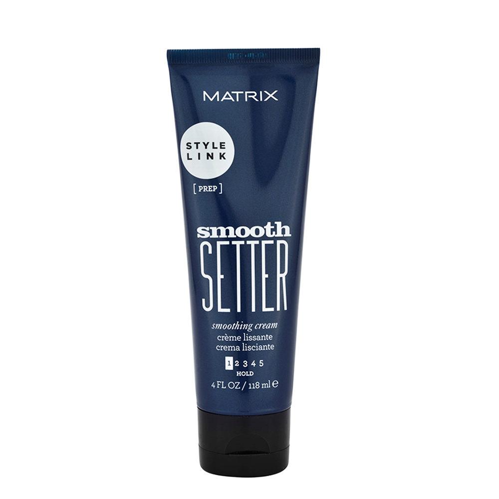 Matrix Style link Prep Smooth setter Anti-frizz hair smoothing cream 118ml - crema anticrespo
