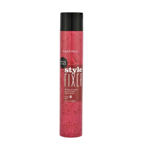 Matrix Style link Perfect Style fixer Hairspray 400ml - lacca tenuta forte