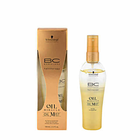 Schwarzkopf Professional BC Oil miracle Oil mist Fine to normal hair 100ml - olio multifunzionale