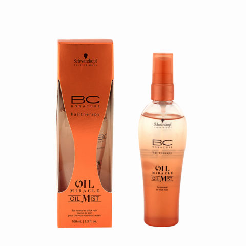 Schwarzkopf Professional BC Oil miracle Oil mist Normal to thick hair 100ml - olio multifunzionale