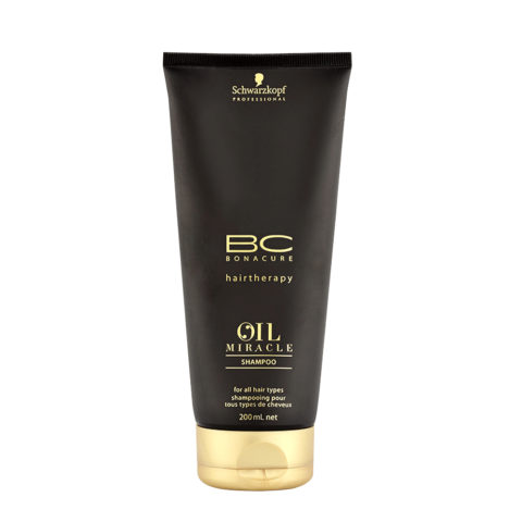 Schwarzkopf Professional BC Oil miracle Shampoo for all hair types 200ml - shampoo capelli grossi