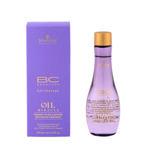 Schwarzkopf Professional BC Oil miracle Barbary fig oil & keratin Restorative treatment 100ml - olio multifunzionale