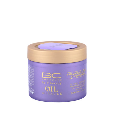 Schwarzkopf Professional BC Oil miracle Barbary fig Oil restorative mask 150ml - Maschera ristrutturante