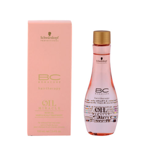 Schwarzkopf Professional BC Oil miracle Rose oil Hair & scalp treatment 100ml - olio lenitivo