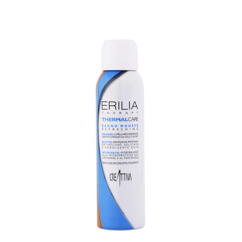 Erilia Thermal care Bagno mousse Refreshing 150ml - shampoo mousse idratante