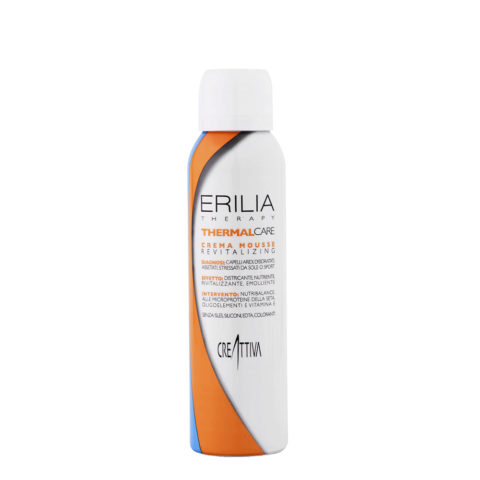 Erilia Thermal care Crema mousse Revitalizing 150ml - crema condizionante in mousse