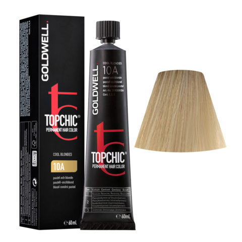 10A Biondo platino cenere Goldwell Topchic Cool blondes tb 60ml