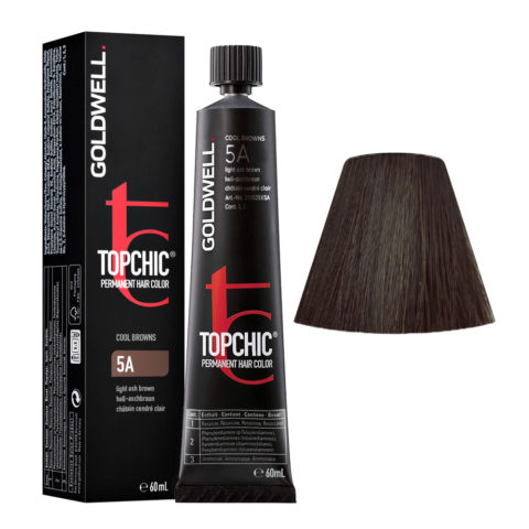 5A Castano chiaro cenere Goldwell Topchic Cool browns tb 60ml