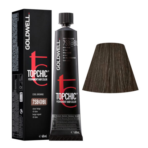 6SB Castano argento Goldwell Topchic Cool browns tb 60ml