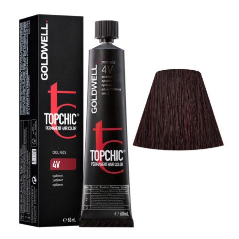 4V Ciclamino Goldwell Topchic Cool reds tb 60ml