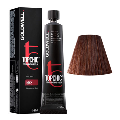 5RS Rosso argento scuro Goldwell Topchic Cool reds tb 60ml