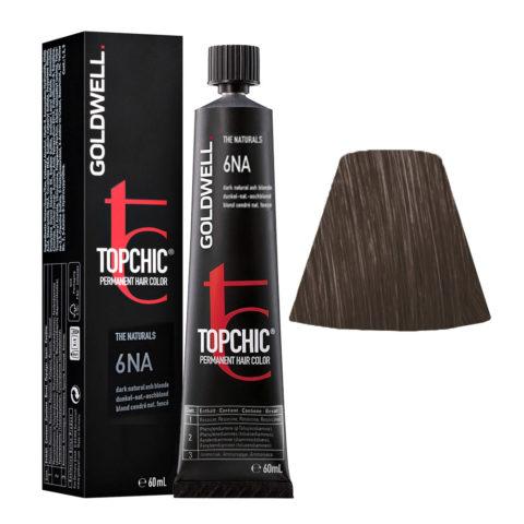 6NA Biondo scuro cenere naturale Goldwell Topchic Naturals tb 60ml