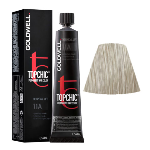 11A Biondo speciale cenere Goldwell Topchic Special lift tb 60ml