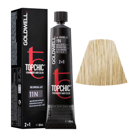 11N Biondo speciale naturale Goldwell Topchic Special lift tb 60ml
