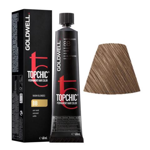 8B Biondo chiaro sabbia Goldwell Topchic Warm blondes tb 60ml