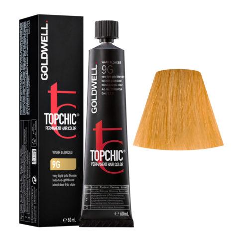 9G Biondo chiarissimo dorato Goldwell Topchic Warm blondes tb 60ml