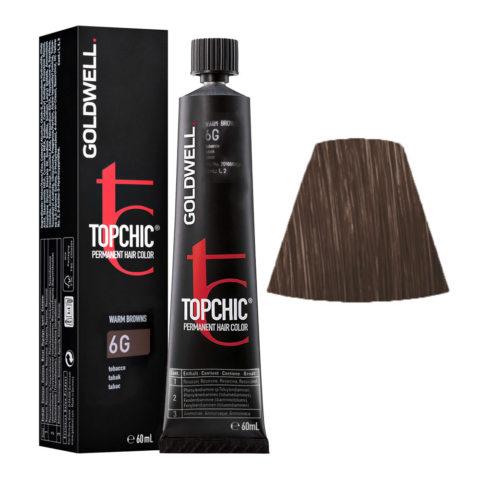 6G Biondo scuro tabacco Goldwell Topchic Warm browns tb 60ml