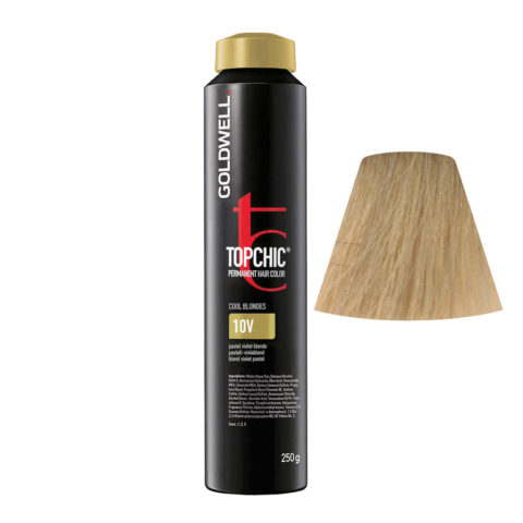 10V Biondo platino violetto Goldwell Topchic Cool blondes can 250gr