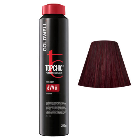6VV MAX Violetto acceso Goldwell Topchic Cool reds can 250ml