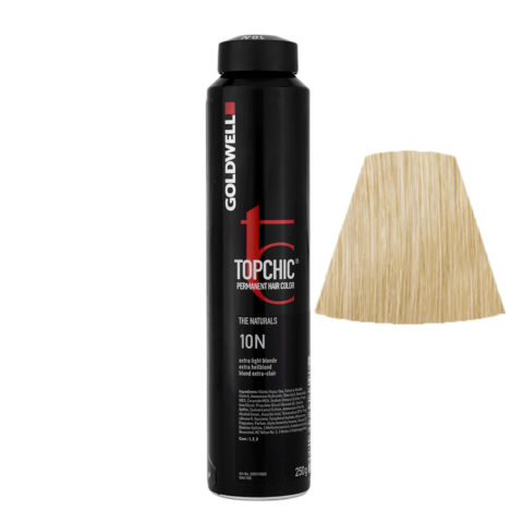 10N Biondo platino Goldwell Topchic Naturals can 250ml
