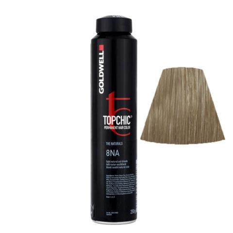 8NA Biondo chiaro cenere naturale Goldwell Topchic Naturals can 250gr