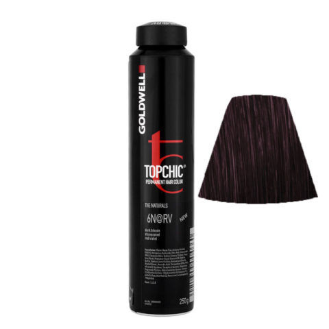 6N@RV Biondo scuro illuminato rosso violetto Goldwell Topchic Elumenated naturals can 250ml