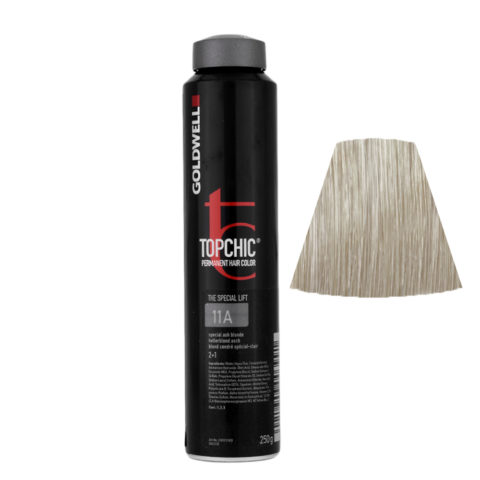 11A Biondo speciale cenere Goldwell Topchic Special lift can 250ml