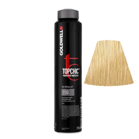 11G Biondo speciale dorato Goldwell Topchic Special lift can 250ml