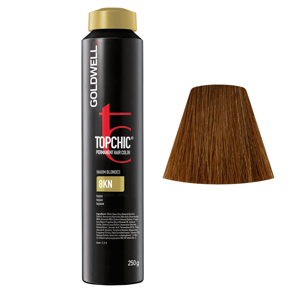 8KN Biondo topazio Goldwell Topchic Warm blondes can 250gr