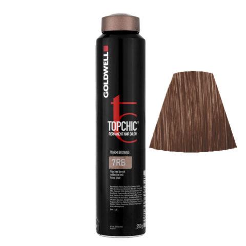 7RB Faggio rosso chiaro Goldwell Topchic Warm browns can 250gr