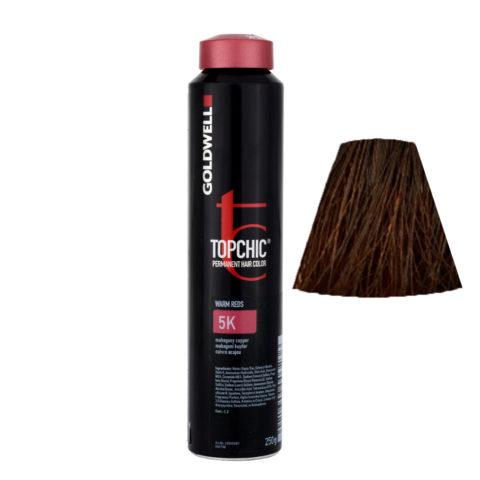 5K Rame mogano Goldwell Topchic Warm reds can 250ml