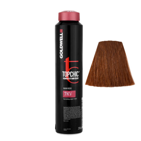 7KV Rame violetto affascinante Goldwell Topchic Warm reds can 250ml