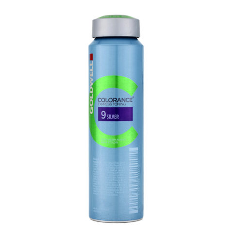 9 Silver Goldwell Colorance Express toning can 120ml