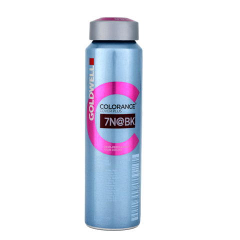 7N@BK biondo medio illuminato beige rame Goldwell Colorance Cover plus Elumenated naturals can 120ml