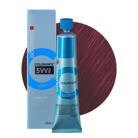 5VV MAX Violetto intenso Goldwell Colorance Cool reds tb 60ml