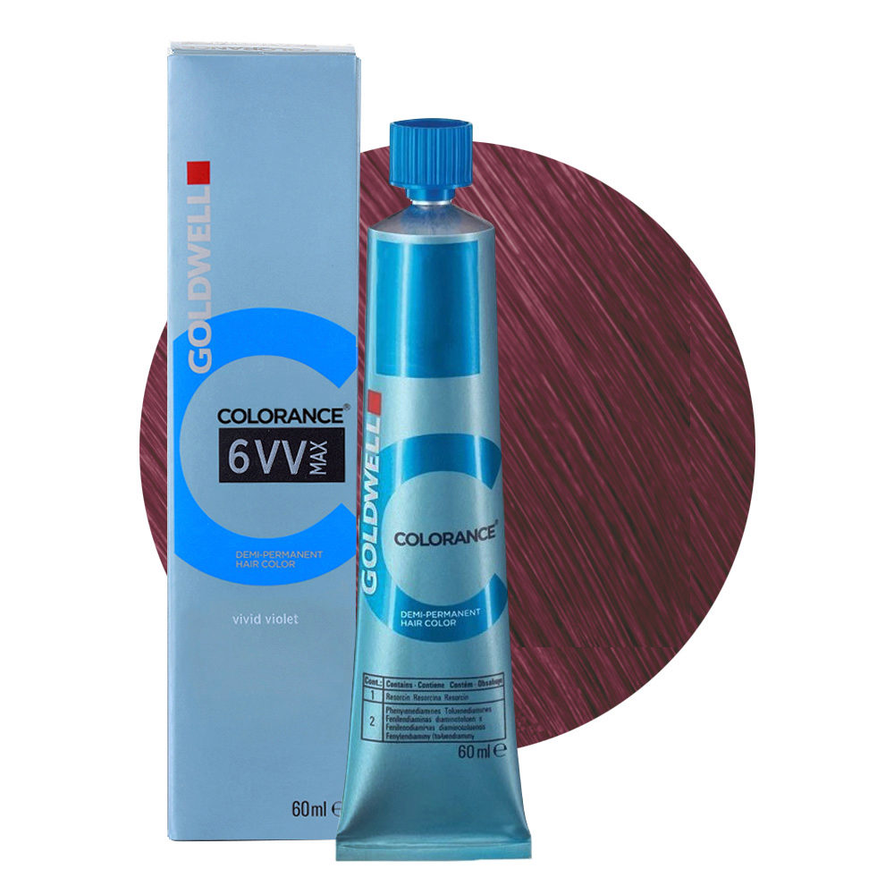 6VV MAX Violetto acceso Goldwell Colorance Cool reds tb 60ml