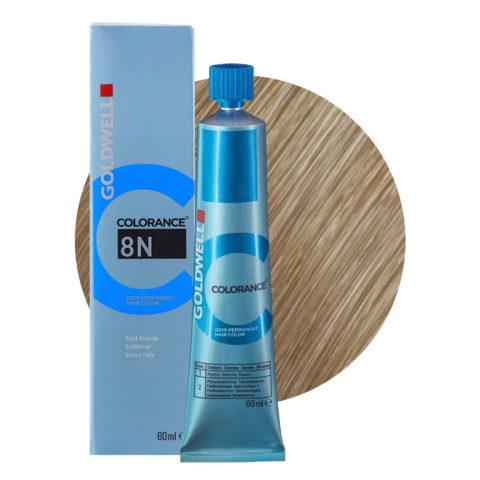 8N Biondo chiaro naturale Goldwell Colorance Naturals tb 60ml